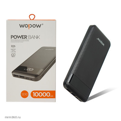 Power bank Wopow  SD10 1000mAh Li-Pol LED