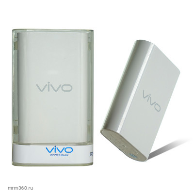 Power bank  10000mAh=3600mAh Vivo (white)