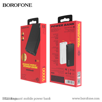 Power Bank Borofone BT23 Regnant (10000mAh){Black}